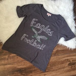 Eagles Football graphic tee shirt athletic for sale
